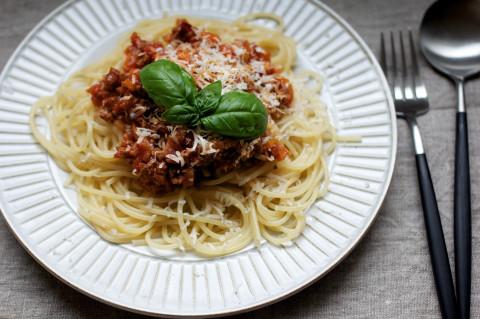 0623のスパゲティミートソース
