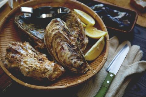1214の牡蠣パーティー