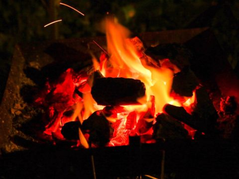 0609の焚き火