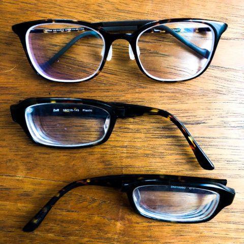 0921のメガネ