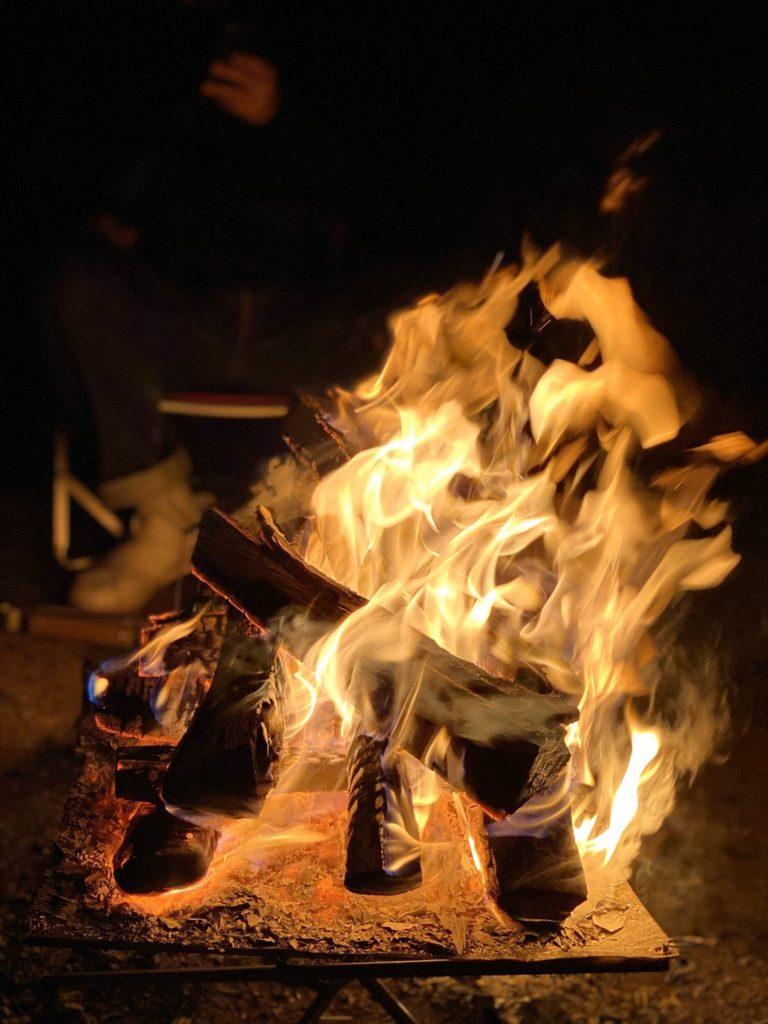 0223の焚き火