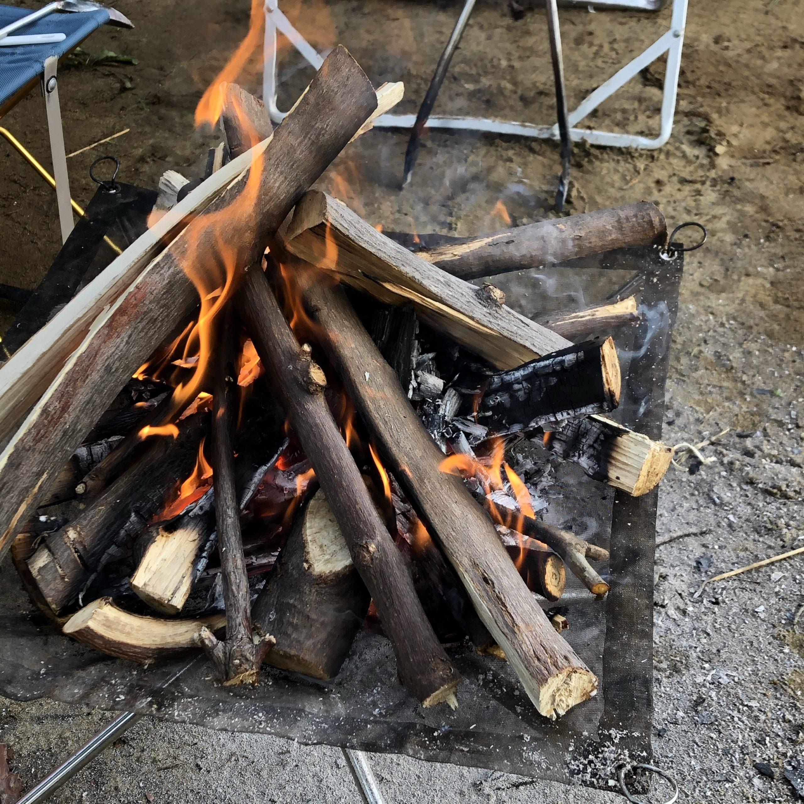 1025の焚き火